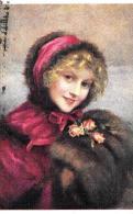 [DC11287] CPA - ARTE - F. MARTIN KAVEL FRILEUSE CHILLY PIN UP GIRL  - PERFETTA - Viaggiata 1919 - Old Postcard - Pittura & Quadri