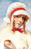 [DC11289] CPA - ARTE - G. HERVE' - EVA MODERNA EVE MODERNE MODERN EVA - Non Viaggiata - Old Postcard - Pittura & Quadri