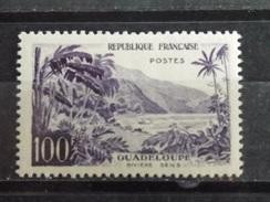 Timbre Neuf FRANCE 1959 : Rivière Sens En Guadeloupe - France