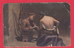 222054 / BULGARIA Art JAK. BANTSCHEFF - BRIEF AN DIE HEIMAL , 9 DIVISION Bulgaria Bulgarie Bulgarien Bulgarije - Bulgarie