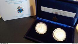 CITTA' DEL VATICANO YEAR 1996  - QUALITA' FDS - PROOF - VERSO L'ANNO SANTO 2000 - COPPIA  ARGENTO - Vaticano