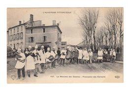 L'Auvergne Pittoresque. Le Mercredi Des Cendres. Procession Des Cornards. (2255) - Folklore