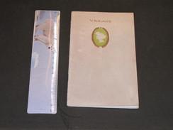 V. RIGAUX - PARFUM CAMIA - Livret Publicitaire Avec Photos Et Dédicaces Des Vedettes/comédiennes 194/1905 14 Feuillets - Parfums & Beauté