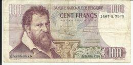 BELGIQUE , 100 Francs , 08.06.1971 , N° World Paper Money : 134 B - [ 2] 1831-... : Belgian Kingdom