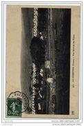 """Cachet Convoyeur Ligne """"USSEL A BUSSEAU D'AHUN 1909"""" Semeuse Dateur Inversé Frappe Superbe LUXE - Marcofilia (sobres)"""