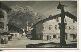 Telfs - Joseph-Schöpf-Platz Gegen Die Hohe Munde  (003007) - Telfs