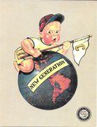 BUVARD BLOTTING PAPER MODE TEXTILE VESTIMENTAIRE CHIPIE N° 16 NEW GENERATION BEBE GLOBE TERRESTRE - Textile & Clothing