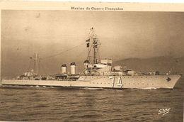 Cpa  Marine Militaire Française Torpilleur Palme - Guerra