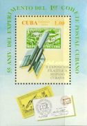 Cuba 1994 The 2nd Spanish-Cuban Stamp Exhibition EXPO Spain Philatelic Exhibitions Letter S/S Stamp MNH - Cuba