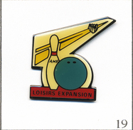 Pin's Sport - Bowling / AMF Loisirs Expansion - Installateur. Non Estampillé. Epoxy. T562-19 - Bowling
