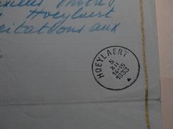 Telegram Déposé à Bruxelles Vers Hoeylaert Le 05/12/1933. - Télégraphes