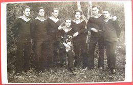 YUGOSLAVIA - MORNARI  KRALJEVSKE  MORNARICE U TIVTU 1928 - Jugoslavia