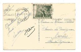 VIGNETTE ERINNOPHILE VALLEE DU MOREZ  FRANCHE COMTE SUR CARTE - Commemorative Labels