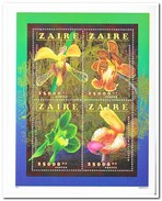 Zaïre 1996, Postfris MNH, Flowers Orchids - Zaïre