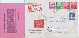 Bund Heuss Zusammendruck W 20 Y Ua RBf Braunschweig 1960 - [7] République Fédérale