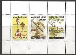 Surinam 1984 Child Welfare Children Youth M/S Stamps MNH SGMS1213 - Surinam