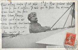 Aviateur: Védrines Sur Monoplan Morane En 1911 - Aviateurs