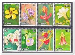Zaïre 1984, Postfris MNH, Flowers - Zaïre