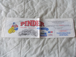 Etui Baguette Du Cirque Pinder Jean Richard - Advertising