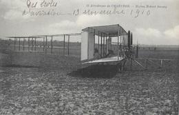 Aérodrome De Hartres: Biplan Robert Savary En 1910 - Carte R.L. N° 15 Non Circulée - ....-1914: Précurseurs