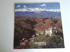Alt1030 Calendario Calendar, Calendrier 2003 Il Biellese Dall'alto Vedute Aeree Castelli Montagne Colline Piazzo Biella - Calendari