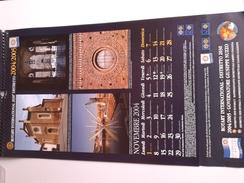 Alt1031 Calendario Calendar, Calendrier 2004 Rotary Internatioanl Italy Genova Torino Vercelli Biella Novara Cuneo Asti - Calendari
