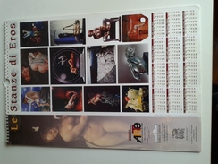 Alt1032 Calendario Calendar, Calendrier 2004 Le Stanze Di Eros Arte Contemporanea Arts Concorso Pittura Scultura Quadro - Calendari