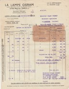 - 92 - PUTEAUX - Factures Richard HELLER - 024 - Electricidad & Gas
