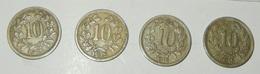 AUSTRIA – 10 HELLER – 1915 – 4 MONETE – (131) - Austria