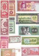 BILLETS ETRANGERS NEUFS - Lot De 12 Billets Tous Différents - Coins & Banknotes