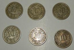 AUSTRIA – 10 HELLER – 1916 – 6 MONETE - (132) - Austria
