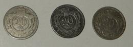 AUSTRIA – 20 HELLER – 1894 – 3 MONETE – (133) - Austria