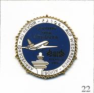 Pin's Aviation - Aéroport D'Atlanta Pour Les J.O 1996 / Au Revoir. Non Estampillé. Zamac. T563-22 - Airplanes
