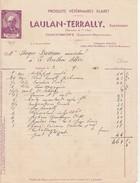 - 47 - COCUMONT - Facture  LAULAN-TERRALLY  - 027 - Non Classificati