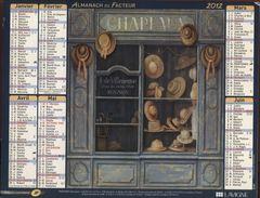 CALENDRIER ALMANACH 2012 - Calendars