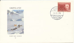 Greenland Cover Dundas 1-9-1976 Savigsivik - Greenland