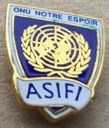 ONU NOTRE ESPOIR - ASIFI - MONDE - WORLD -    (19) - Celebrities