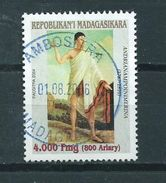 2004 Madagascar Art,kunst 4.000 Used/gebruikt/oblitere - Madagaskar (1960-...)