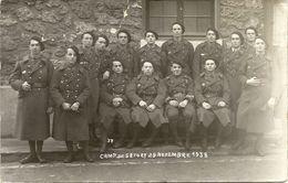 78   VERSAILLES  CAMP DE SATORY    29  NOVEMVRE  1938   No  503  SUR  LE  COL - Versailles