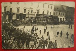 POLOGNE - POLAND - Cosel - Kozle - Militärbegräbnis - Military Funeral W.W.I. K.u.K. - Polen