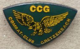 COMBAT CLUB - GRETZENBACH - CCG - AIGLE   -    (19) - Badges