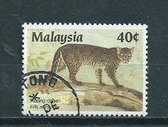 1987 Malaysia Wild Animal,dieren,tiere Used/gebruikt/oblitere - Maleisië (1964-...)
