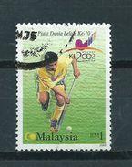 2002 Malaysia Hockey Used/gebruikt/oblitere - Maleisië (1964-...)