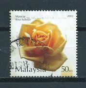 2003 Malaysia Flowers,fleurs,blümen Used/gebruikt/oblitere - Maleisië (1964-...)