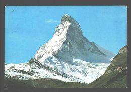 Zermatt - Matterhorn, Mt Cervin - VS Valais