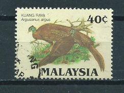 1986 Malaysia Birds,oiseaux,vögel Used/gebruikt/oblitere - Maleisië (1964-...)