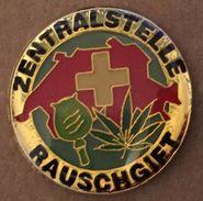 ZENTRALSTELLE RAUSCHIET - CANABIS - SWISS - SUISSE -  19) - Police