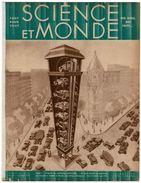 1931 Revue SCIENCE ET MONDE N°13 Parkings En Hauteur,Hydravion,Ingénieurs Dispatchers, L'Atlantide, Doryphores - Sciences & Technique