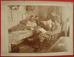 CROATIA - HRVATSKA - K.u.K. OFFIZIERE , HRVATSKI CASNICI - ORIGINAL PHOTO WW I. - Kroatië