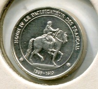 RC 6332 MEDAILLE ARGENT L'HISTOIRE DE FRANCE HENRY IV - France